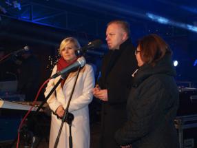 Życzenia noworoczne składa burmistrz Jerzy Zakrzewski. UM KŁOBUCK/MOK KŁOBUCK